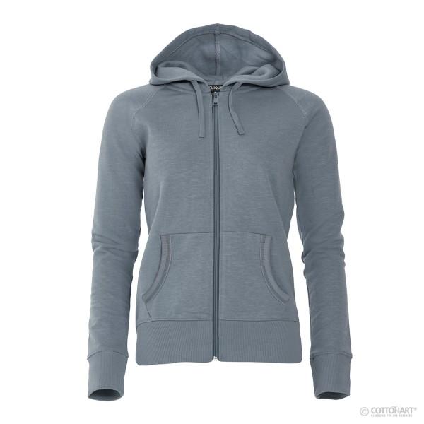 Ladies sweat jacket with hood Loris Clique®
