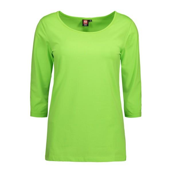 Damen Stretch T-Shirt 3/4-Arm ID Identity®