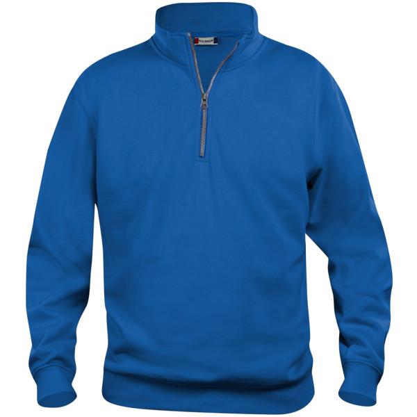 Herren Sweatshirt Basic mit Reißverschluss Clique®