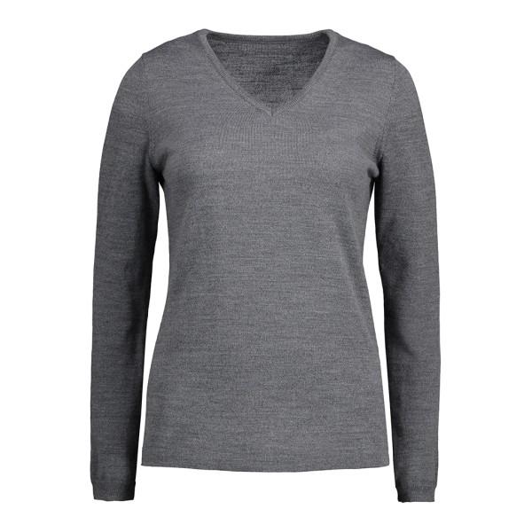 Damen Pullover mit V-Ausschnitt ID Identity®