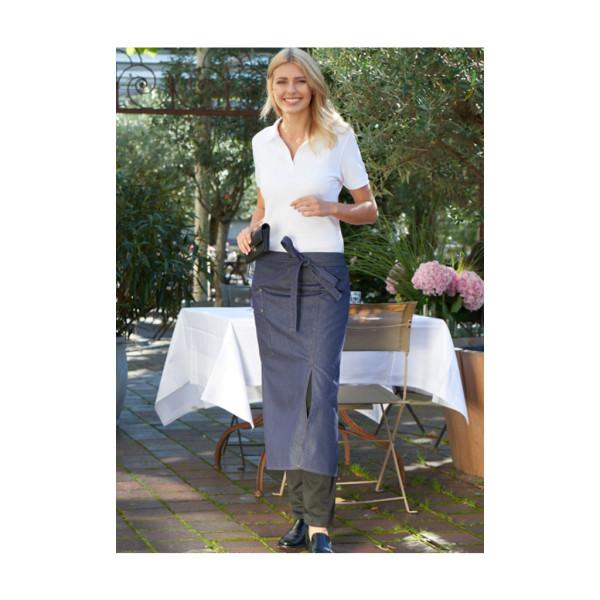 Jeans bistro apron with slit & pocket Scanno CG®