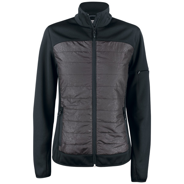 Ladies' fleece jacket black Custer Clique®
