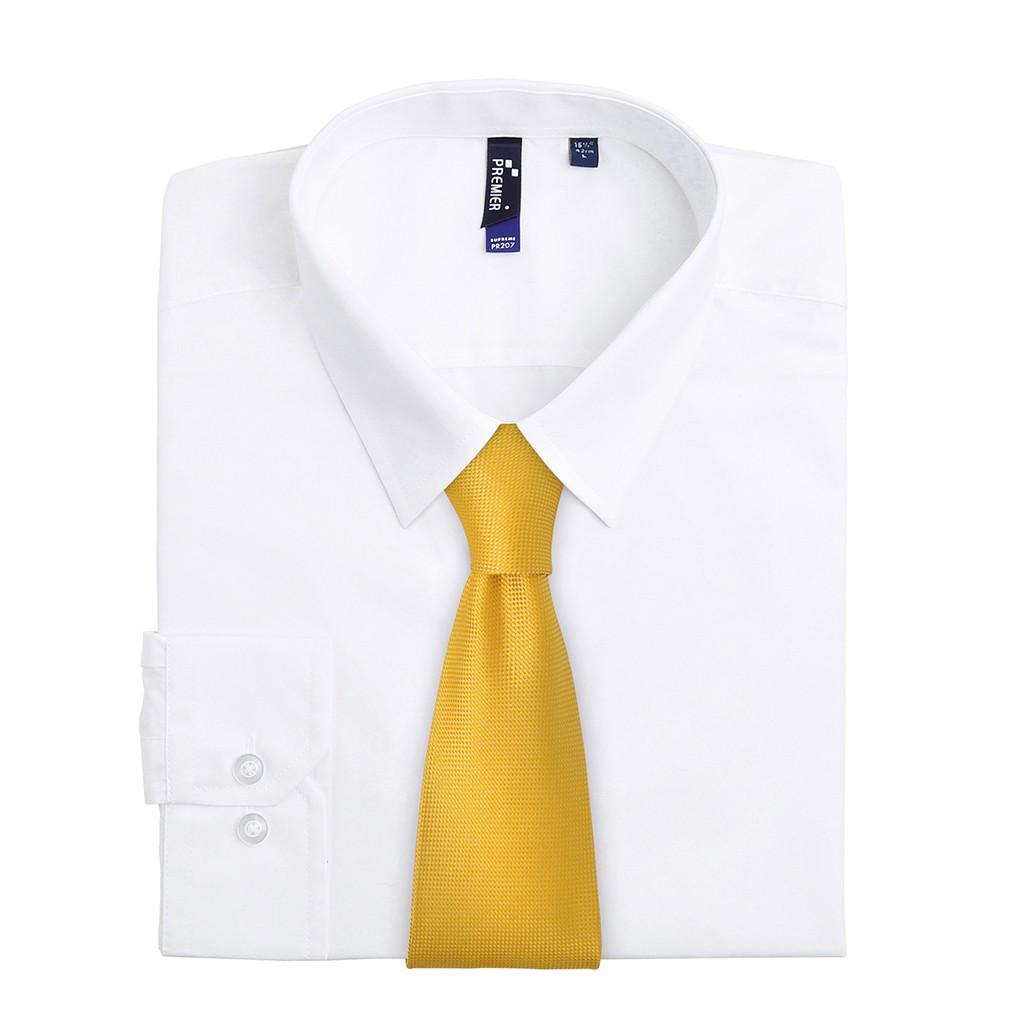 Krawatte mit Waffelmuster Premier®   bedrucken, besticken, bedrucken lassen, besticken lassen, mit Logo  
