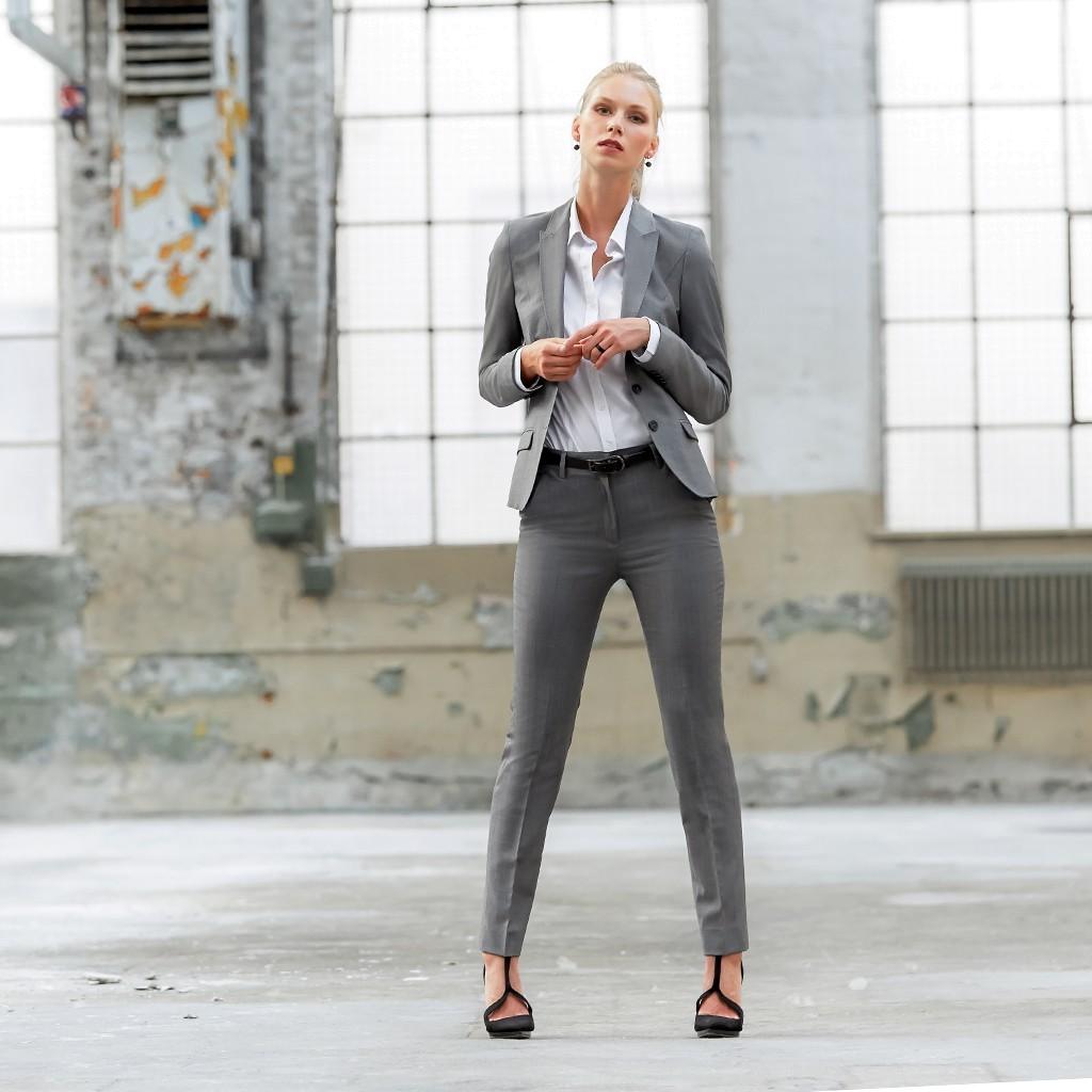 Damen Blazer Modern Slim Fit Greiff®   bedrucken, besticken, bedrucken lassen, besticken lassen, mit Logo  
