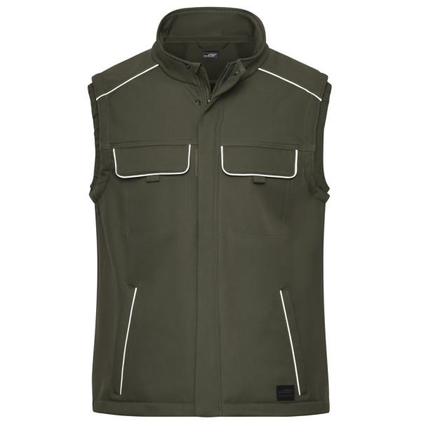 Workwear Softshellweste James & Nicholson®