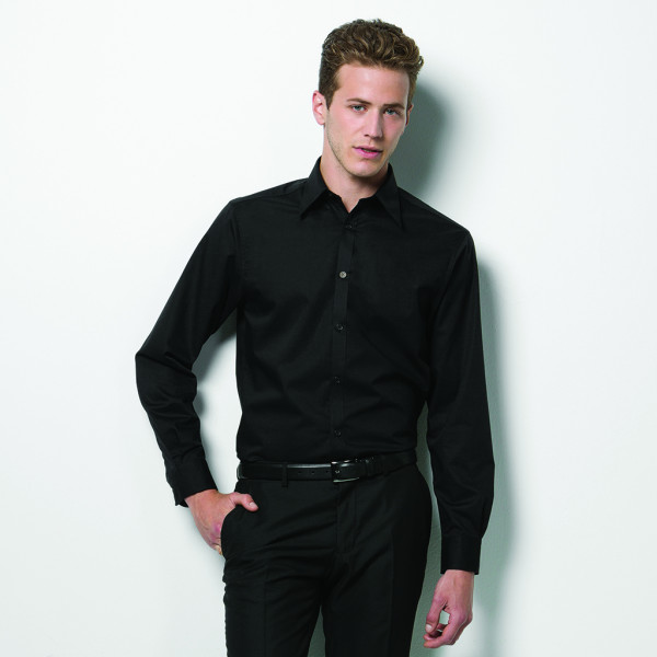 Stretch Shirt Long Sleeve Tailored Fit Bargear®