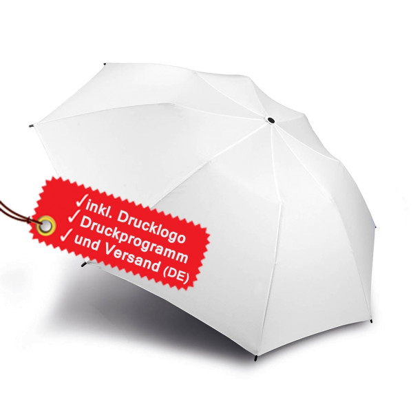 Foldable golf umbrella to be printed incl. logo KiMood®