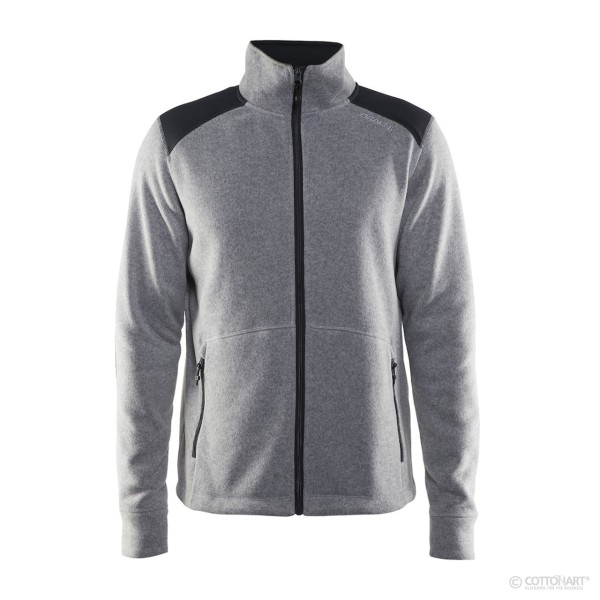 Herren Strickfleece-Jacke Noble Craft®