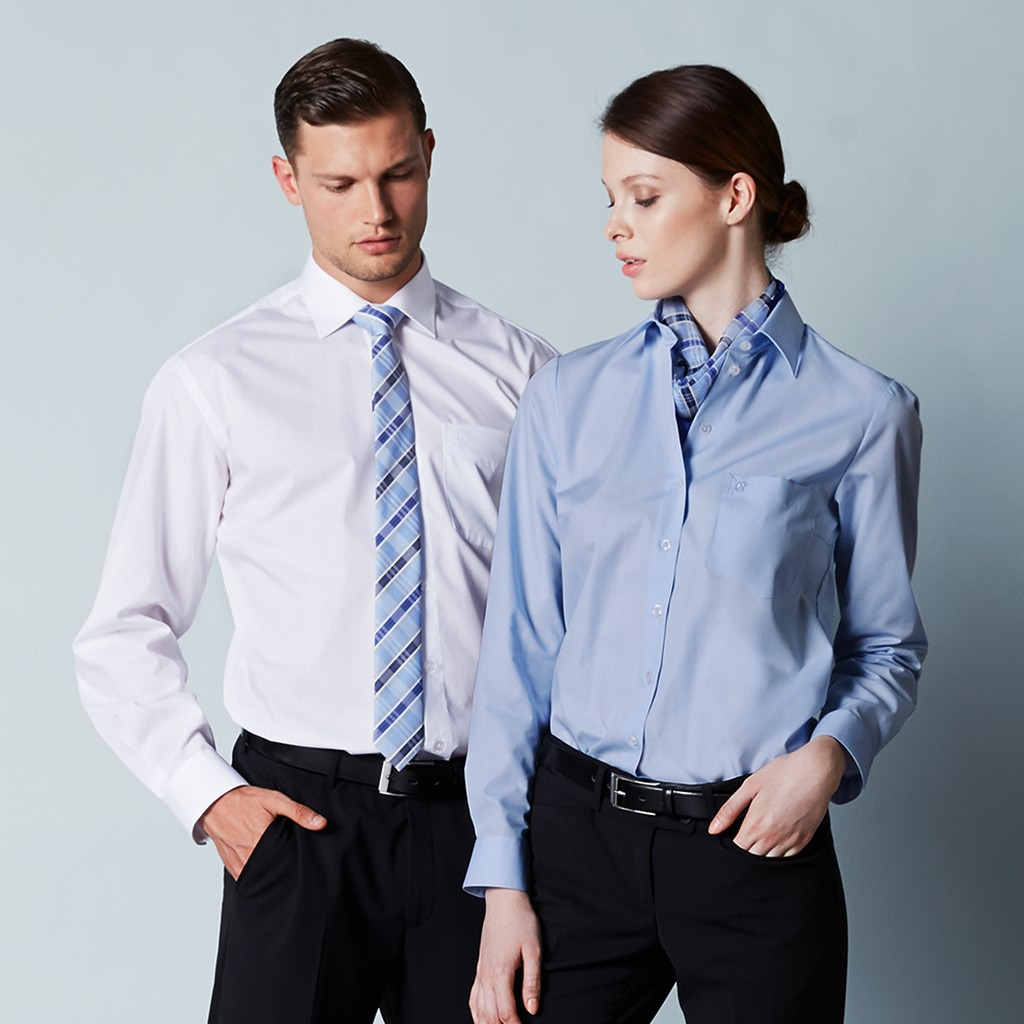 Premium Bluse Bügelfrei klassischer Schnitt Greiff®   bedrucken, besticken, bedrucken lassen, besticken lassen, mit Logo  
