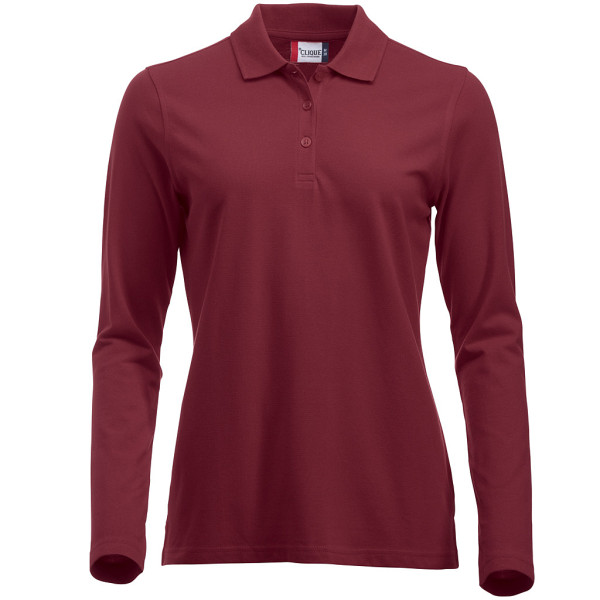 Ladies Polo Shirt Long Sleeve Classic Marion Clique®