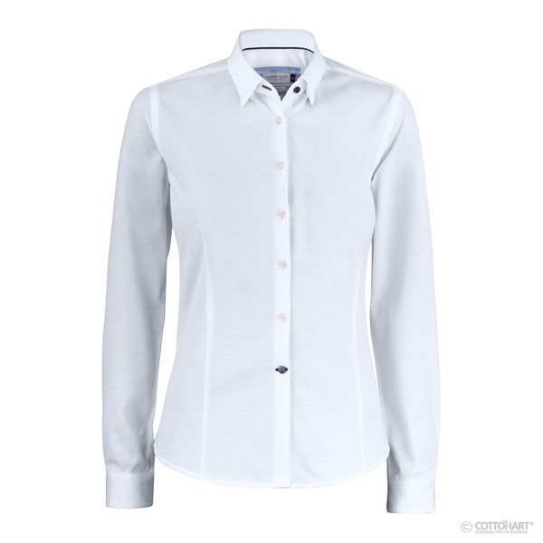 Business Blouse Indigo Bow 34 J. Harvest & Frost®