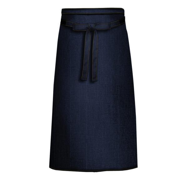 Denim jeans cooking apron with front pocket Link®