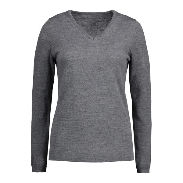 Women's sweater with V-neck ID Identity®