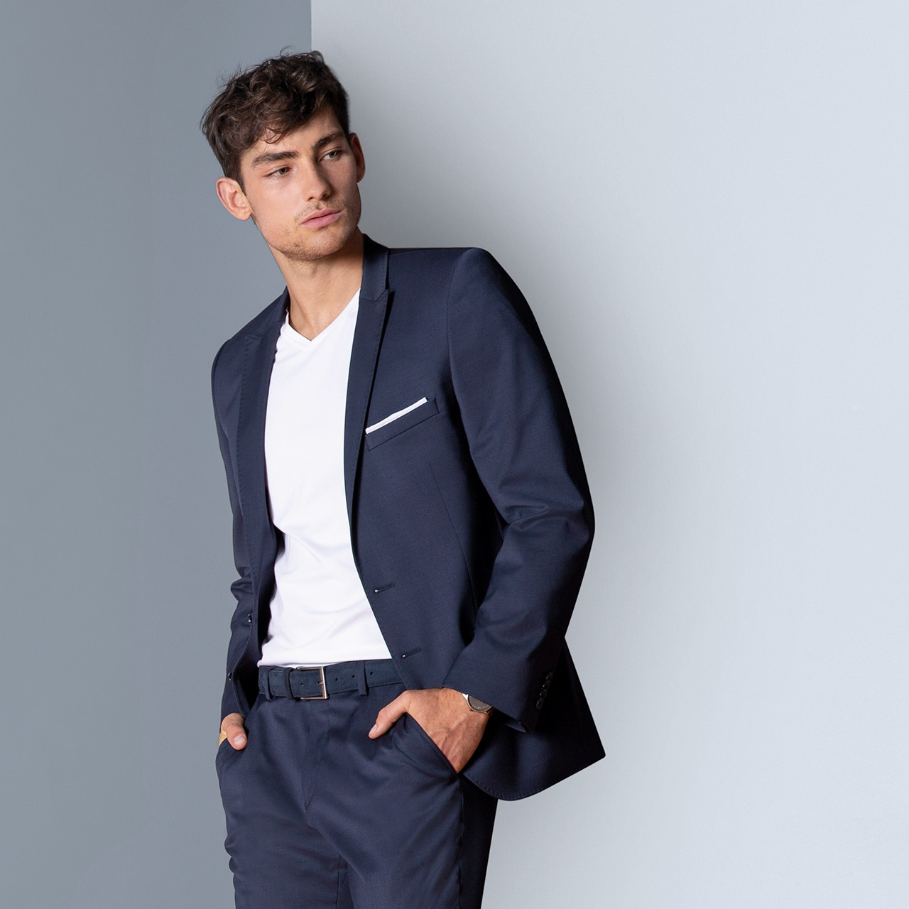 Herren Sakko Modern Slim Fit Greiff® | bedrucken, besticken, bedrucken lassen, besticken lassen, mit Logo |