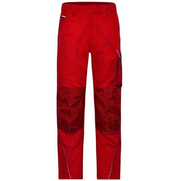Workwear Arbeitshose Materialmix James & Nicholson®