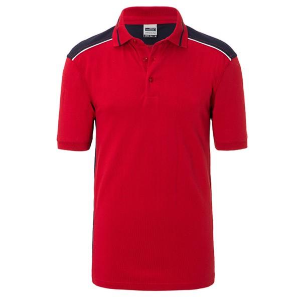 Herren Workwear Polo Kontrast James & Nicholson®