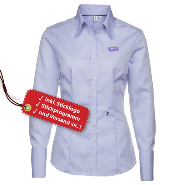 Seidensticker® Slim Fit Bluse besticken lassen
