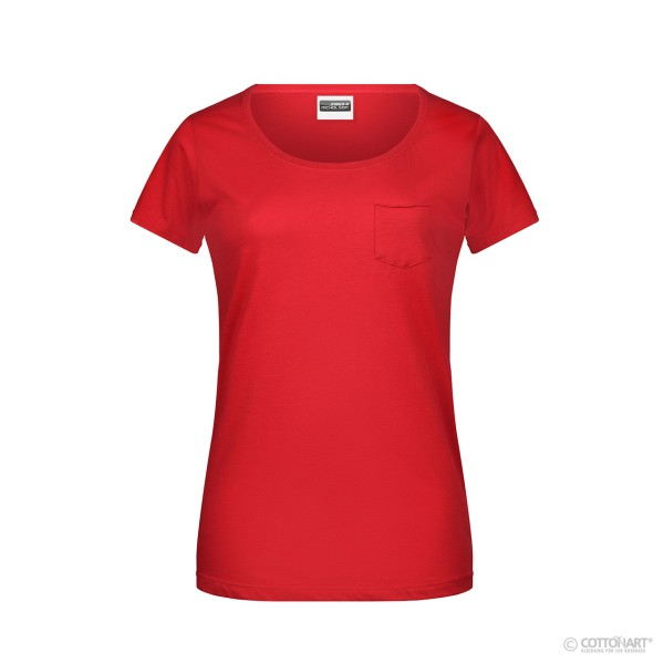 Ladies T-Shirt Organic Cotton James & Nicholson®