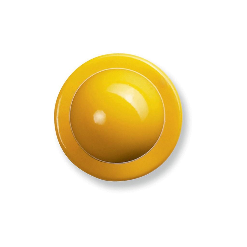 Kugelknöpfe Gelb 12er Pack Greiff®   bedrucken, besticken, bedrucken lassen, besticken lassen, mit Logo  