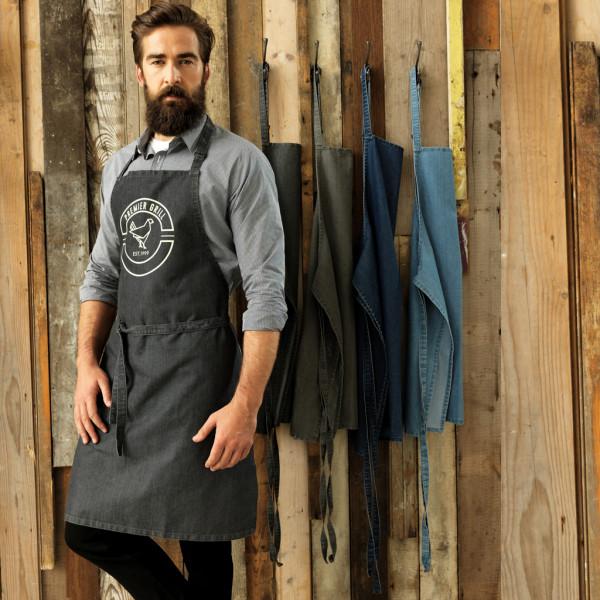 Jeans bib apron Premier®