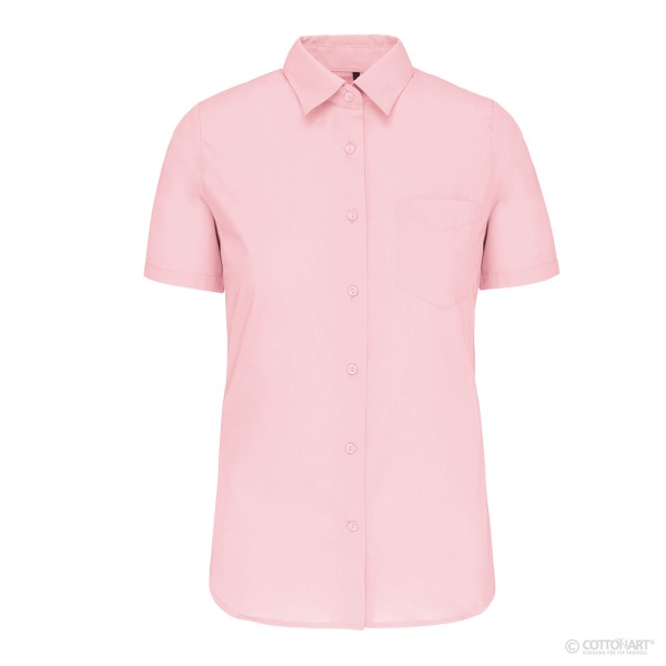 Damen Worwear-Bluse Kurzarm Kariban®