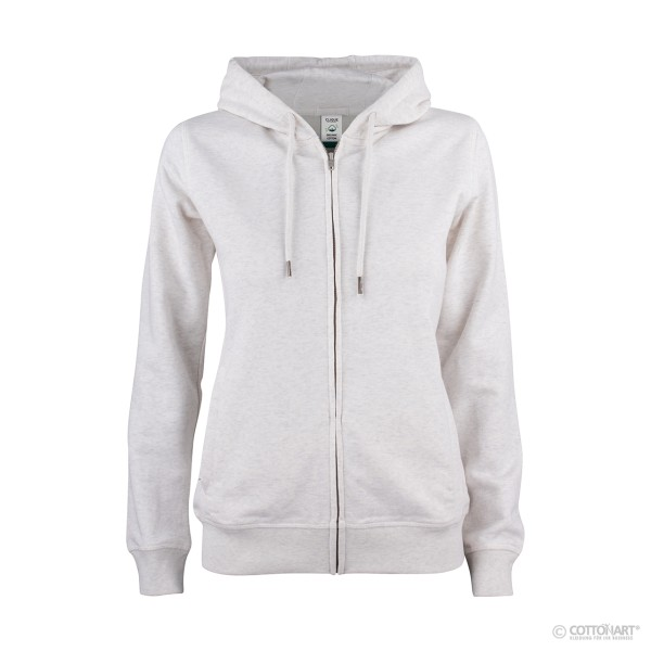 Women's Hooded Sweaters Full Zip Premium Organic Cotton Clique®