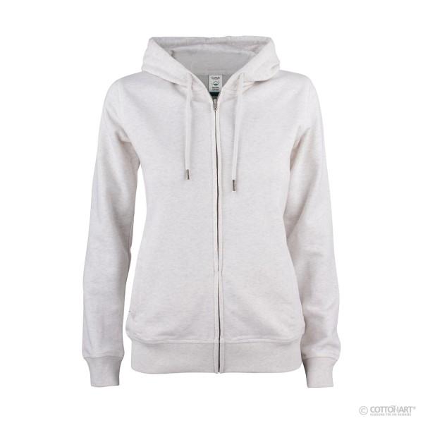 Damen Kapuzenjacke Premium Bio-Baumwolle Clique®