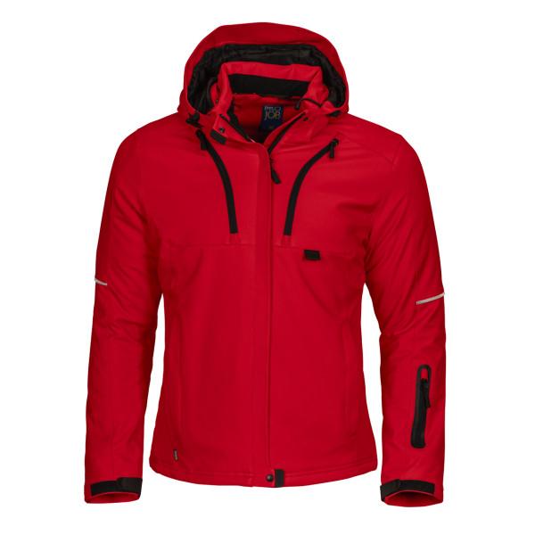 Damen warme Funktionsjacke Projob® red