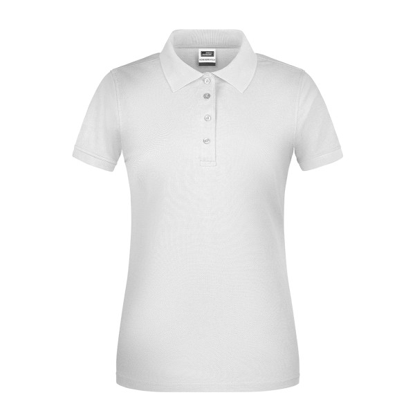 Ladies Workwear Polo Shirt Organic Cotton James & Nicholson®