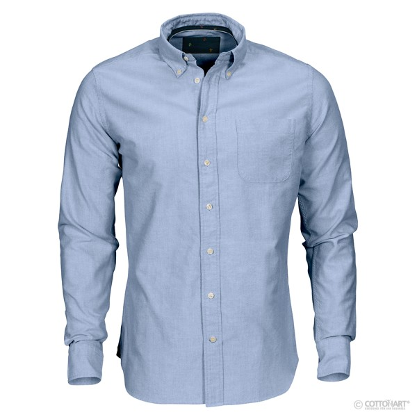 Oxford Hemd Indigo Bow 30 RF J. Harvest & Frost®