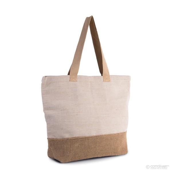 Shopping-Beuteltasche mit rustikalen Look KiMood®
