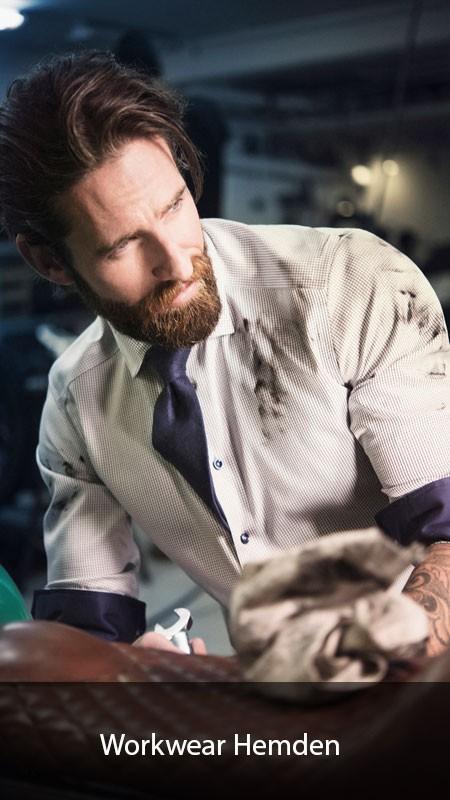 Worwear Hemden bedrucken und besticken lassen
