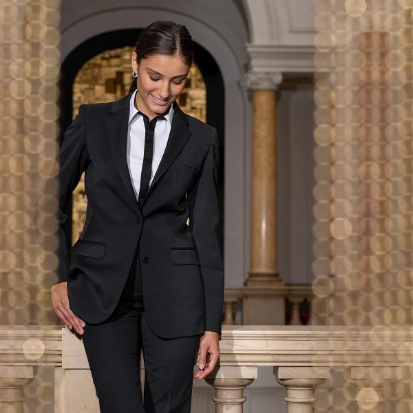 Basic Damen Service Langblazer Comfort Fit Greiff®