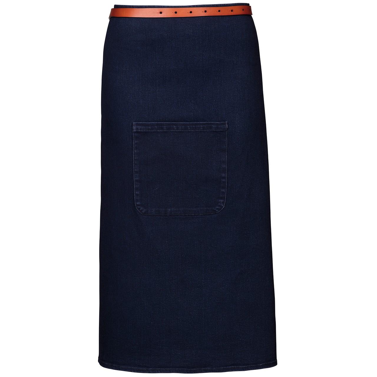 Kellnerschürze im Jeanslook (Stretch) Exner® | bedrucken, besticken, bedrucken lassen, besticken lassen, mit Logo |