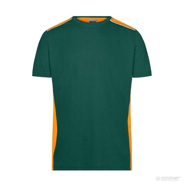 Herren Workwear T-Shirt Kontrast James & Nicholson®