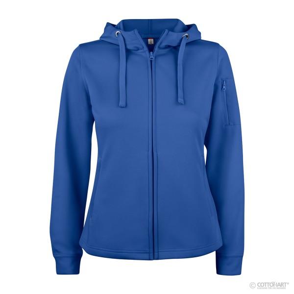 Damen Basic Active Hoody Full Zip Clique®