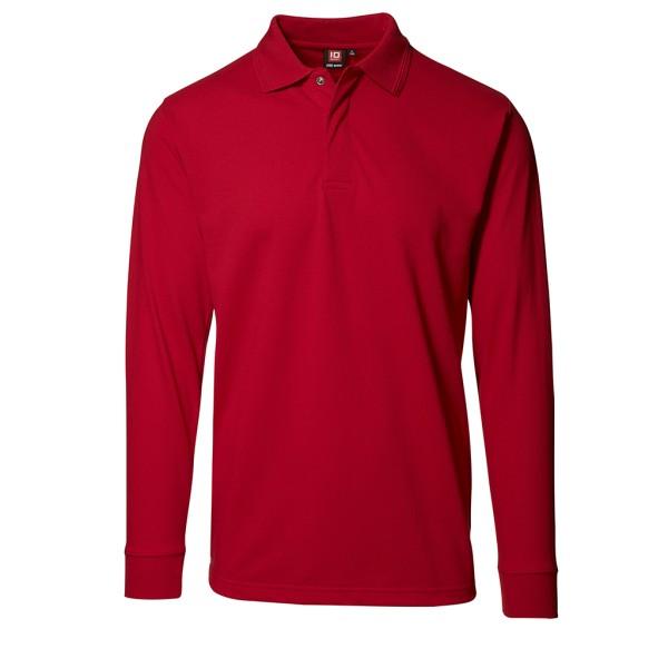 HACCP Poloshirt Langarm mit Druckknöpfen ID Identity®