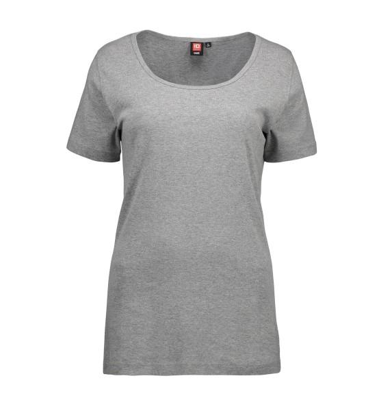 Damen 1x1 Geripptes T-Shirt ID Identity®