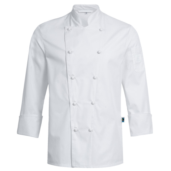 RF Cuisine Exquisit chef's jacket with Greiff® fabric buttons