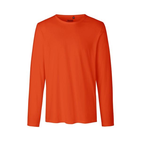 Organic Fairtrade Herren Langarm T-Shirt Neutral®