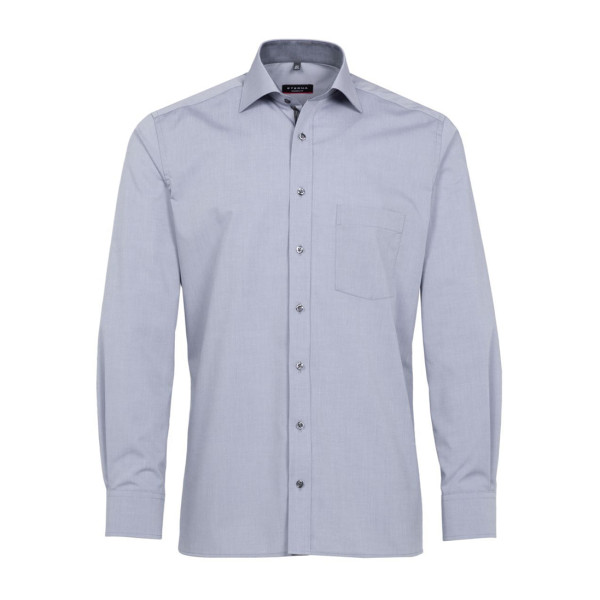 Langarm Hemd Modern Fit Chambray Eterna®