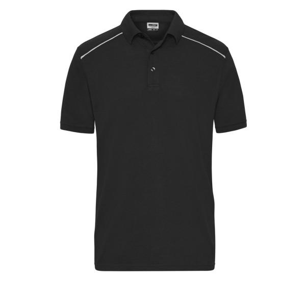 Herren Workwear Polo Materialmix James & Nicholson®