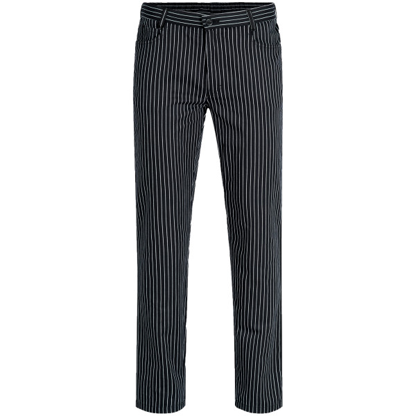Men's trousers RF Cuisine Basic B/W Striped Greiff®