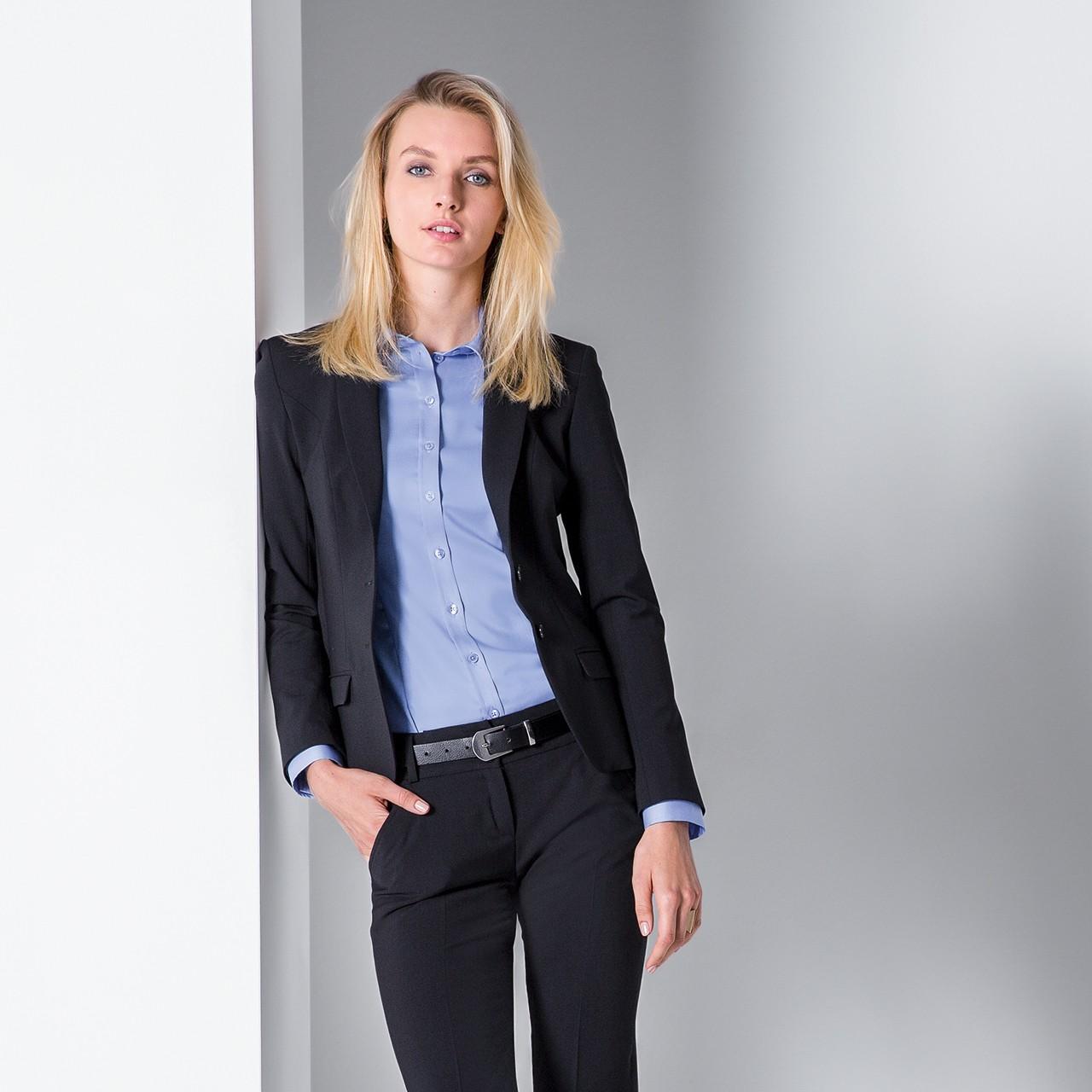 Damen Blazer Slim Fit Greiff® | bedrucken, besticken, bedrucken lassen, besticken lassen, mit Logo |