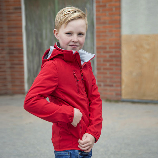 Kinder Basic Softshelljacke Clique®
