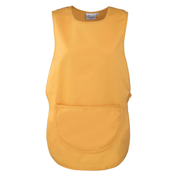 Short throw-over apron with Premier® pocket