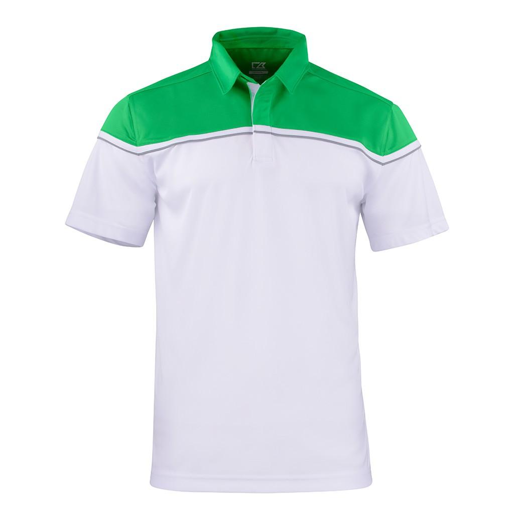 Herren Poloshirt Sunset Cutter & Buck® | bedrucken, besticken, bedrucken lassen, besticken lassen, mit Logo |