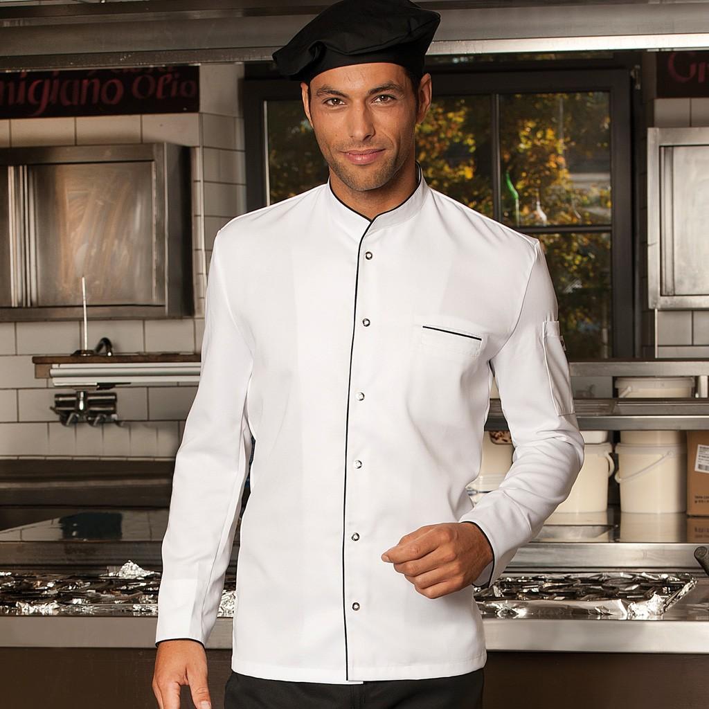 Premium Tencel® Kochjacke Trapani Man CG® | bedrucken, besticken, bedrucken lassen, besticken lassen, mit Logo |