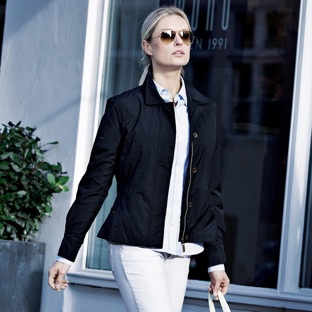 Damen Jacke Oxbridge Nimbus® | bedrucken, besticken, bedrucken lassen, besticken lassen, mit Logo |