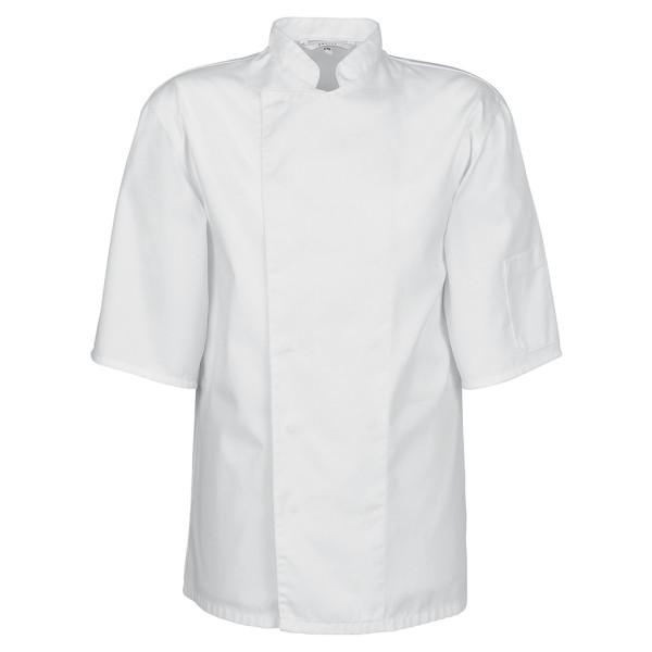 Basic Kochjacke kurzarm mit Druckknöpfe Greiff®